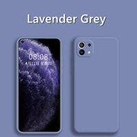 Cell Phone Cases para for xiaomi mi 11 lite 10t poco f3 m3 x3 pro gt redmi nota 10 9 pro 9t original caixa de silicone líquido