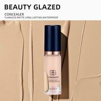 6ml Matte Hydratriating Face Liquid Foundation lang anhaltender Whitening und Concealer Primer Cream Makeup Kosmetik
