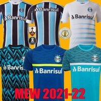 Tayland 2021 2022 Gremio Futbol Formaları Guild Giuliano 20 21 22 Ramiro Geromel Luan Maicon Fernandinho Eğitim Jersey Yelek Futbol Gömlek