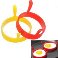 Silicone Egg Frying Rings Fry Mold Pancakes Ring Baking Accessory Egg Fry Frier Fried Oven Poacher Pancake Ring Mould Tool