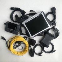 2in1 الماسح الضوئي لسيارات BMW ICOM A2 B ISTA-D مع MB SD C6 Star التشخيص الاتصال 6 مع 1TB HDD في CF-19 Laptop 4G Toughbook جاهز للعمل