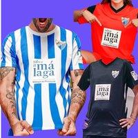 Málaga 21 22 Malaga Soccer Jerseys Málaga 2021 2022 Camiseta de Fútbol K. Bare Casas Juanpi Adrian CF كرة القدم قميص جايرو Juankar Juande Luis Muñoz Rivas Home One One
