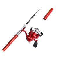 Boat Fishing Rods X9FF Mini Pocket Po-le Rod With Spinning Kit Pen And Reel Combos For Salt Freshwater