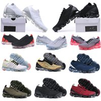 FLY 2.0 TRICOT 3 Кроссовки кроссовки кроссовки Chaussures de курс hommes triple noir blanc вольт moc dusty cactus femmes vapapeurs coussins спорт