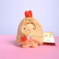 6pcs Lot 10cm San-X Plush toy doll sumikko gurashi small pendant backpack pendants sweet gift keychain CCF7726