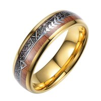Necklace Jewelry Straight Fashion Steel Ring Simple Tungsten Gold Men's Ring{category}
