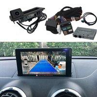 Автомобильная резервная копия камеры интерфейс адаптер заднего дисплея Улучшение декодера для- A3 8V S3 8P MMI3G 2009-2021 Просмотр датчиков парковки камеры