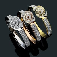 20 design mix High quality Factory wide large 17cm diamond Bangle Rose Gold Silver 316L Stainless Steel flower v Love Jewelry Women Mens Bracelets