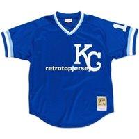 # 16 bo jackson kansas cidade mitchell ness retrô 1989 bp jersey