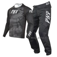 Hassas Tilki 180 Oktiv Trev MX Jersey Pantolon Motosiklet ATV Dirt Bike Offroad DH UTV MTB Motocross Dişli Seti