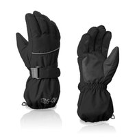 Ski Gloves Children Boys Kids Winter Quality Snow Snowboard Baby Waterproof Finger High Girls Warm Black Blue Full Childr