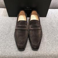 2021 رجال الأعمال الجلاد أحذية جلدية نمط، الأزياء النسخة الكلاسيكية عارضة، خذ كل شيء من وقت لآخر، كبار المصممين، معدل عودة الشارع العالي.