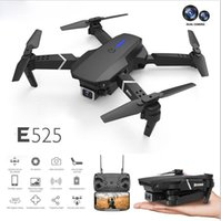 지능형 UAV 항공기 LS-E525 무인 항공기 4K HD 듀얼 렌즈 원격 제어 전기 미니 드론 WIFI 1080P 실시간 변속기 접이식 RC Quadcopter 완구