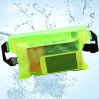 Storage Bags Swimming Bag Transparent Waterproof Underwater Dry Shoulder Waist Pack Pocket Pouch Mobile Phone Case