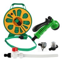 Parts HEYRV Trailer Part Spray Gun Wash Hose Reel Expandable Flexible Plastic Water Pipe With Filter