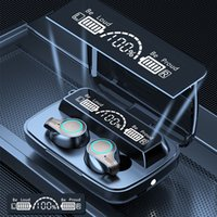OEM Earphones Wireless Earphone M10 TWS Stereo running mini earbuds noise cancelling with LED Display headphone power bank charging case