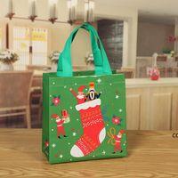 Presente de Natal Saco de Embalagem Non Tecido Bolsa Santa Santa Grande Doces Claus Sacos de Xmas Presente Santa Sacos para Decoração Festival DHD11079