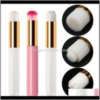 البثرة المهنية العين لاش شامبو الحاجب الأنف الجمال ماكياج منظف الوردي الأبيض مع 3 أنواع azpe3 الملحقات 9EJB