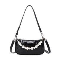 Fashion Evening Bags Women one shoulder messenger bag Small High quality Genuine Leather PU material Wholesale Handbag Tote Black White B450