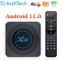 X96 X4 TV Box Amlogic S905X4 Smart RGB Light TV-Box Android 11 4G 64G Wifi AV1 Media Player 4GB 8GB 64GB 32GB Youtube BT Media-Player X96X4 TVBOX 8K Set TopBox