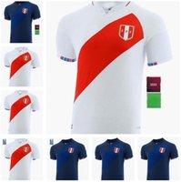 2021 2022 Peru Futbol Forması Eve Uzakta Cueva Lapadula Guerrero Farfan Flores 21 22 Ulusal Takım Formalar Erkekler Futbol Gömlek