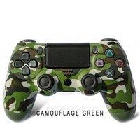 Camouflage Bluetooth Wireless Controller For PS4 Vibration Joystick Gamepad Game Handle Controllers Play Station With Logo Retail Box