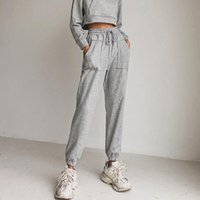 Lose Jogging Hosen Frauen 2021 Mode Harajuku Hohe Taille Kordelzug Hosen Casual Traf Weibliche Koreanische Streetwear Kleidung Damen Capri