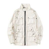 TopStoney 2020 Konng Gonng Сплошная мужская модная куртка Удобные повседневные уличные куртки Карманы Топы оригинальные турецкие ткани