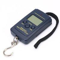 40kg 10g LED display Portable Mini Electronic Digital Scales Pocket Case For Kitchen Fishing Luggage Travel Weighting Steelyard Hanging Hook