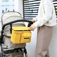 Stroller Parts & Accessories Waterproof Baby Bag Organizer Large Capacity Diaper Bags Portable Nappy