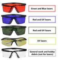 TAMAX EG003 نظارات IPL التصحيح 200nm-2000nm نظارات حماية العين ليزر ليزر للأشعة فوق البنفسجية مع القضية