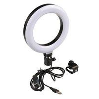 Flash Heads LED Selfie Computer Fill Ring Light Lamp Brightness Adjustable Lights Live Broadcast Video For Mobile Phone