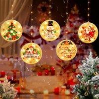 Strings 1.5m 2021 Festival Led Light Christmas Tree Decorations For Home Hanging Ornaments Holiday Nice Xmas Gift Wedding Navidad JQ