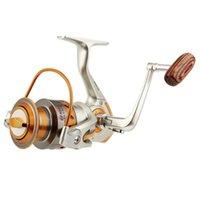 Reel de pesca actual EF500-9000 Metal Rocker Wheel Wheel Spinning Outdoor Baitcasting Reels