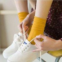Pile stockings long tube silk spring and summer thin socks women's Velvet solid color breathable