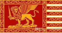 İtalya Venedik Cumhuriyeti şehir bayrak 3ft x 5ft polyester afiş uçan 150 * 90 cm özel bayrak açık
