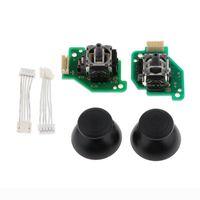 Game Controllers & Joysticks Analog Stick Caps + 3D Joystick Thumbstick Flex Cable Replacement For WiiU Pad Controller L R Set