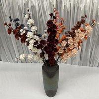 """Eine Silk Crape Mystle Blume (5 Brancheniness / Stück) 38 """"Künstliche Larkspur Delphinium für Hochzeit Home Party Floral Dekoration Dekorative Fluss"""