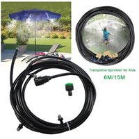 Pool & Accessories Children Trampoline Sprinkler Durable Safe Multifunctional Water Cooling Pipe For Yard Park 3-4kg Automatic Pressure