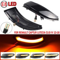 Emergency Lights For Captur Kaptur 13-16 Clio IV 4 13-18 Car Accessories Dynamic Turn Signal Light LED Mirror Sequential Indicator