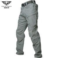 Pantaloni merci PaveHawk Pantaloni Tactical Pantaloni Tactical Impermeabile Casual Military Army Black maschile Pantaloni in cotone generale Pantaloni sportivi Pantaloni sportivi 3XL