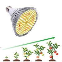 Full Spectrum 20W 184LED Plant Grow Light Bulbs Aluminum E27 Lamp Indoor Veg Cultivo Growth Hydro Sunlight Phyto OWF8971