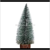 Decorations Festive Party Supplies Home & Garden5Pcs 10Cm Mini Artificial Christmas Tabletop Tree Assorted Pine Trees Xmas Decoration Drop D