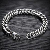 Cuff Trendy Rough Domineering Chain Titanium Steel Men's Bracelet