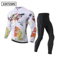 Racing sets Xintown Jersey Pantalones de manga larga, bicicleta de montaña, bicicleta, equipo deportivo al aire libre primavera y otoño