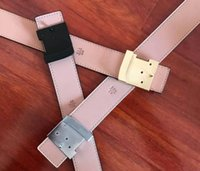 أحزمة الأعمال الكلاسيكية مصمم حزام أزياء الرجال السود المرأة الكبيرة l الذهب مشبك السلس أبازيم العرض 3.8 سنتيمتر المعادن
