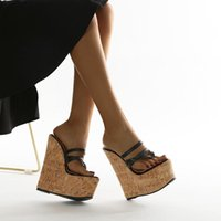 Sandals 2021 Fashion Summer Wedges Women Open Toe Lace Up Ladies Platform High Heels Shoes Size 35-42