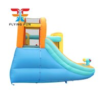 Garden Supplie Inflatable Bounce House Water Slide Bouncy Houses Waters Park Combo for Kids Outdoor Party Play with Air Blower Fast Delivery