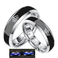 Mood Ring For Woman You Are My King, You Are My Queen.couples Rings