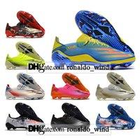 Hediye Çantası Erkek Düşük Ayak Bileği Futbol Çizmeler X Ghosted.1 FG Firma Zemin Cleats Ghosted 20.1 Açık Erkekler Siyah Kırmızı Mavi Sarı Futbol Ayakkabıları